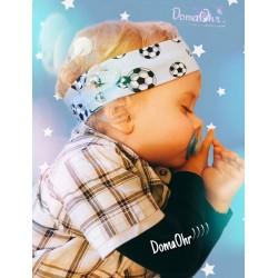 5bd729a2952236 Haarband für Jungen - mit Fußball